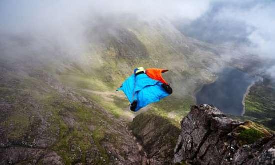 Бывший морской пехотинец вошел с историю после прыжка с Шотландской горы